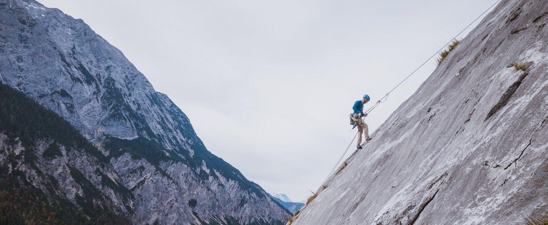 Was das Papa werden mit dem Klettern zu tun hat: