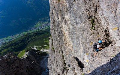pictures made by Peter Manhartsberger Elferkogel Via Ferrata, Stubaier Alps