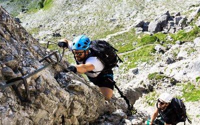 Elferkogel Via Ferrata, Stubaier Alps