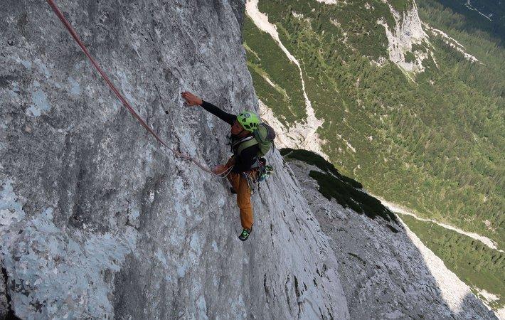 Über einen Sommer voll mit Klettern